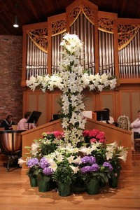 Easter Sunday altar