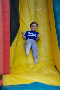 Fun on the Bouncer, Slide and with games 7