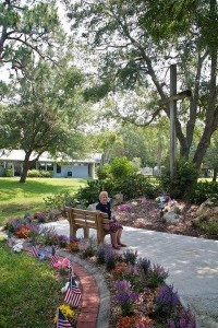 Ruth Olson and Memorial Garden